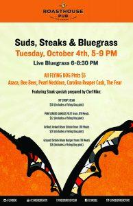 Suds Steaks & Bluegrass